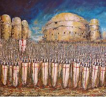 DEFENCE OF JERUSALEM by Kaye Miller-Dewing