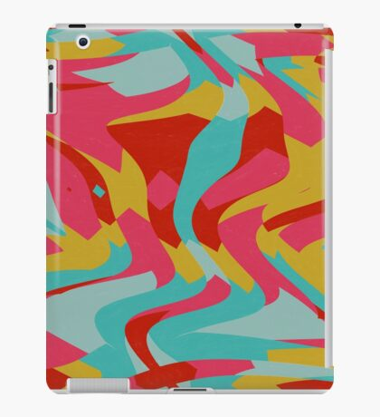 Retro shapes iPad Case/Skin