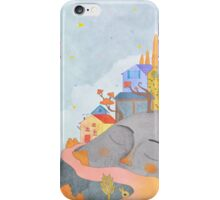 happy town iPhone Case/Skin