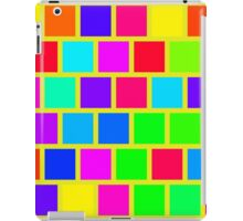 Colorful squares pattern iPad Case/Skin