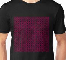 Purple Leather Studs Unisex T-Shirt