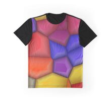 3d colorful shapes Graphic T-Shirt