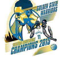 Golden State Warriors 2015 by haroldlfonville