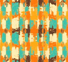 Shredded abstract background Sticker
