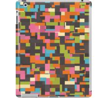 Colorful pixels iPad Case/Skin