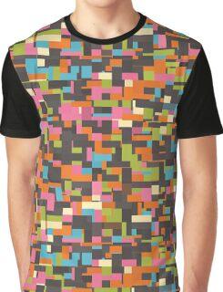 Colorful pixels Graphic T-Shirt
