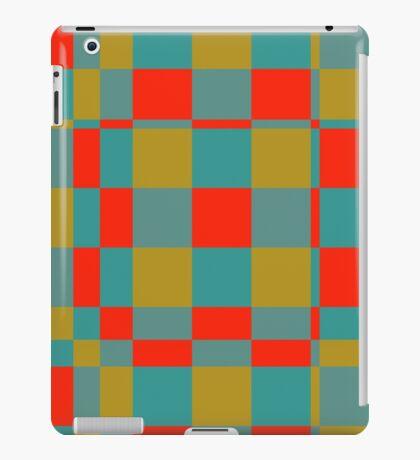 Retro squares iPad Case/Skin