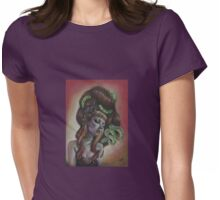 Snake Charmer Womens Fitted T-Shirt