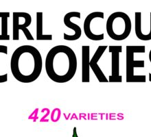 Girl Scout Cookies (Heinz Parody) Sticker