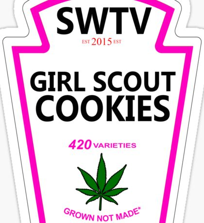 Girl Scout Cookies (Heinz Parody) Sticker