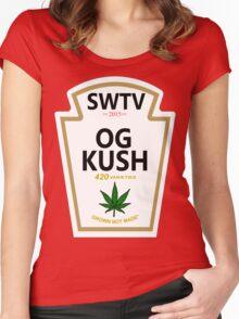OG Kush (Heinz Parody) Women's Fitted Scoop T-Shirt
