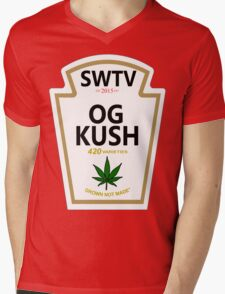 OG Kush (Heinz Parody) Mens V-Neck T-Shirt