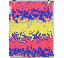 Melting bubbles iPad Case/Skin