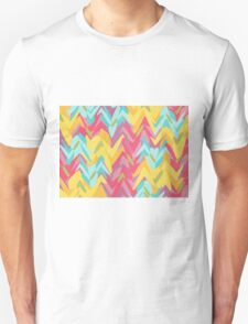 Paint strokes abstract design T-Shirt