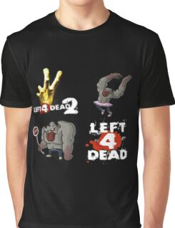 left 4 dead 2 Graphic T-Shirt