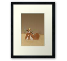 The droid march Framed Print