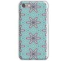 Black stars pattern iPhone Case/Skin