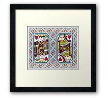 Poker elegant gifts Framed Print