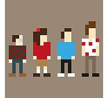Seinfeld sitcom characters in Pixelstyle Photographic Print