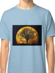 Tree and Moon  Classic T-Shirt