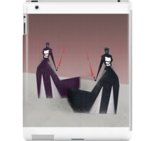The twin sith iPad Case/Skin