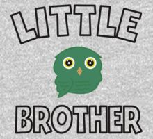 Green Owl Little Brother One Piece - Short Sleeve