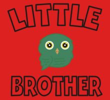 Green Owl Little Brother One Piece - Long Sleeve