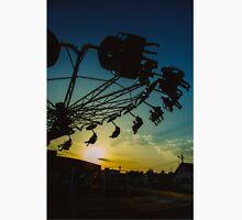 Amusement park sunset Unisex T-Shirt