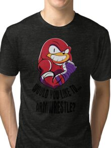 Would You Like to Armwrestle? Tri-blend T-Shirt