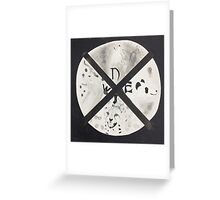 The Mammal Compass Rose Greeting Card