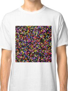 Colorful stars pattern Classic T-Shirt