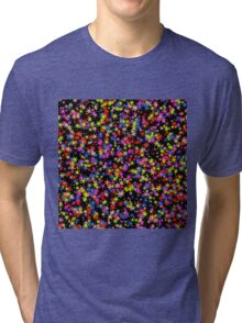 Colorful stars pattern Tri-blend T-Shirt