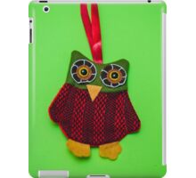 Cute owl decoration iPad Case/Skin