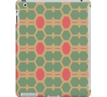 Honeycomb abstract pattern iPad Case/Skin