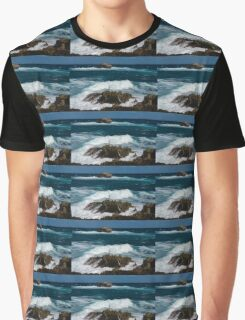 Boiling the Ocean at Laie Point State Wayside, Oahu's North Shore in Hawaii Graphic T-Shirt