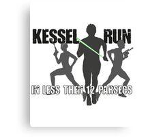 Kessel Running Canvas Print