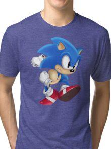 Sonic Runner Tri-blend T-Shirt