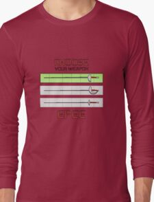 Choose your weapon - Epee Long Sleeve T-Shirt