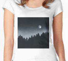 Under Moonlight Women's Fitted Scoop T-Shirt