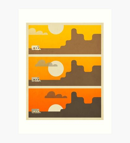 Grand Canyon Sunset Art Print