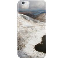 Striding Edge and Catstye Cam from the footpath to Helvellyn iPhone Case/Skin