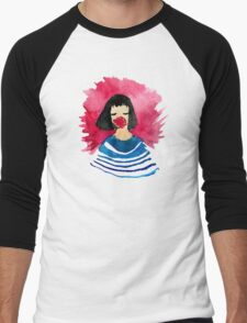 Girl Men's Baseball ¾ T-Shirt