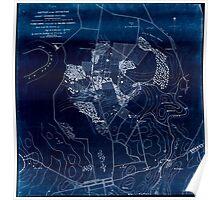 Civil War Maps 0149 Battle of the Antietam fought September 16 17 1862 Inverted Poster