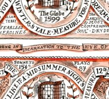 Shakespeare Celebration  Sticker