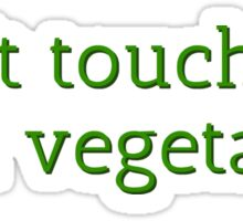 Vegetarian Funny Cool T-Shirt Sticker