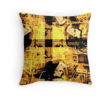 art and beauty Throw Pillow
