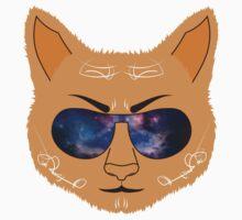 Galaxy Cat Kids Tee