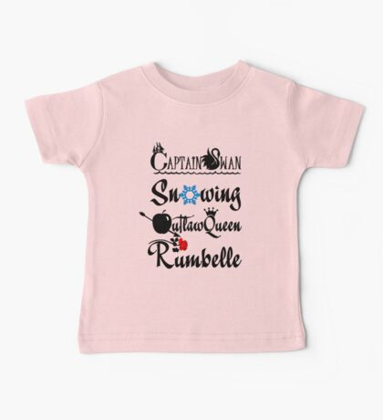 OUAT ships! Baby Tee