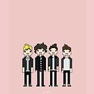 One Direction Cartoon! by 4ogo Design