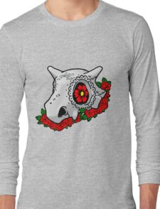 day of the dead cubone Long Sleeve T-Shirt